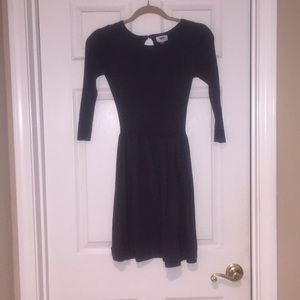 Old Navy Gray Sweater Dress
